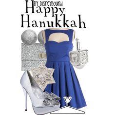 """""""Happy Hanukkah"""" by lalakay on Polyvore"""