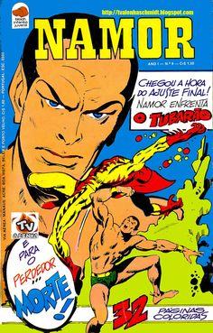 NAMOR (SUB-MARINER) Nº 06 - 1975 EDITORA BLOCH / MARVEL COMICS