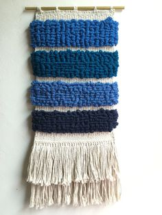 Knotted Weaving by PaintedWolfStudios on Etsy