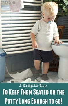 Potty Training Problems - When your Kid Will Not Sit on the Toilet Long Enough to Go- Great tip! Potty Training Problems - When your Kid Will Not Sit on the Toilet Long Enough to Go- Great tip! Craft Activities For Kids, Toddler Activities, Kids Crafts, Learning Activities, Toddler Potty Training, Toilet Training, Toddler Preschool, Toddler Learning, Raising Kids