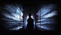 https://github.com/robertdiel/ofxOpenNIOSC //  The Stranger installation is an immersive, interactive experiment brought to life by physical computing and open source technologies.
