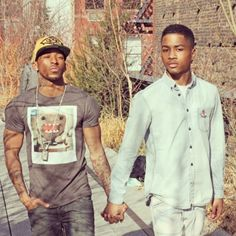 young gay black love