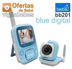 Vigilabebés Basbau bb201 Blue Digital MANUAL DE INSTRUCCIONES