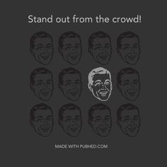 Stand out from the crowd by making stunning visuals in Pub'hed. #visualcontent #stunningvisuals #makeimage