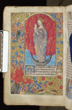 Book of Hours, MS M.815 fol. 26v - Images from Medieval and Renaissance Manuscripts - The Morgan Library & Museum