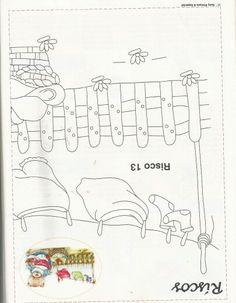 Ursinha lavando roupas 2