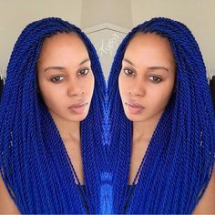 BLUE ROPE TWISTS