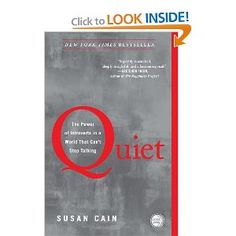 I wish Quiet had been written years ago. I saw myself on every page. Cain spends time delving into how extroversion has seeped into our churches, schools, economy, and work environments. She profiles well-known introverts and shows how their introversion helped them in their calling. She also interviews a bevy of experts and every day folks. The result is compelling.