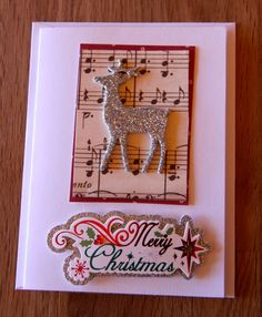 Handmade Cards, Handmade Christmas Card, Christmas Card