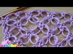 How to crochet a solomon's knot