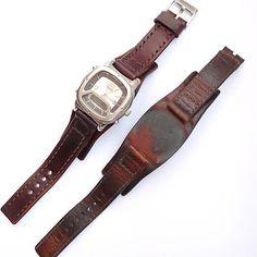 leon / Kožený remienok na hodinky