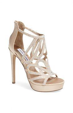 Steve Madden 'Singer' Platform Sandal available at #Nordstrom bridesmaid shoes