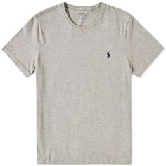 4514ea70f644 Polo Ralph Lauren Custom Fit Crew Tee Mens Cotton T Shirts
