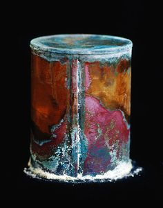 rusty canister