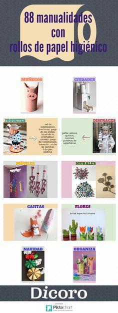 20 Ideas De Manualidades Con Tubos De Papel Manualidades Rollos De Papel Higiénico Manualidades Infantiles