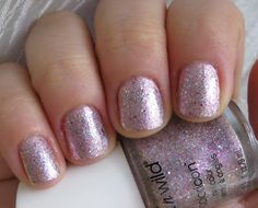 Jewels for your Highness - Wet n Wild's soft pink glitter duochrome.