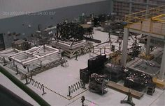 Webb-cam in the Building 29 cleanroom at Goddard Space Flight Center