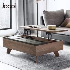 joooi多功能可升降茶几个性简约现代北欧时尚创意小户型客厅家具