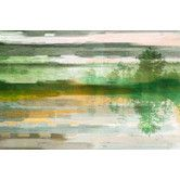Found it at AllModern - Reflective Firs Graphic Art on Wrapped Canvas