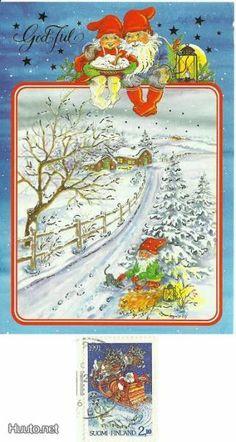 ˇˇ Christmas Tale, Swedish Christmas, Scandinavian Christmas, Christmas Illustration, Gnomes, Norway, Elf, Vintage World Maps, Heaven
