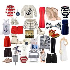 Sailor fashion, created by molly-lafromboise.polyvore.com