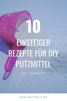 Making cleaning agents yourself is super easy, saves a lot of money and protects the environment … – Informations About Putzmittel selber machen ist super easy, spart eine Menge Geld …