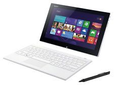 """$799.99 Sony VAIO Tap 11 11.6"""" 2-in-1 Touch-Screen Laptop 4GB Memory 128GB SSD White"""