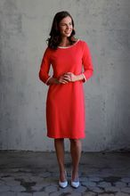 Säde, koralli Dresses For Work, Dresses With Sleeves, Long Sleeve, Fashion, Moda, Gowns With Sleeves, Fashion Styles, Fasion
