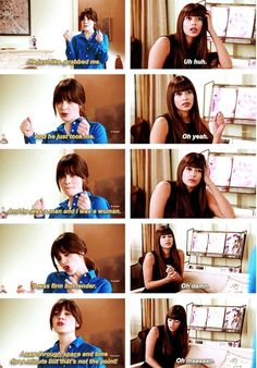 Jess & Cece talking about the kiss :) | New Girl ❤