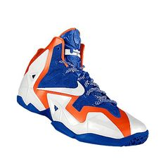3410258042da14 I designed the blue Florida Gators Nike women s basketball shoe. Lebron 11