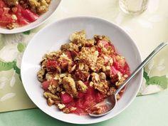 13 Summer Fruit Desserts: Rhubarb Crisp http://www.prevention.com/food/cook/13-summer-fruit-dessert-recipes?s=5&?cm_mmc=Spotlight-_-1749300-_-07022014-_-13-summer-fruit-desserts-read-more