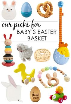 Do you want your baby to be able to celebrate Easter, but are stuck for non-candy gift ideas? Well, look no further. Here's a bunch of great ideas for little gifts you can put into his or her Easter basket.