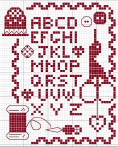 Cross Stitch Sempler