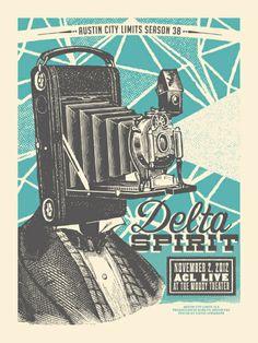 Poster Vintage Camera