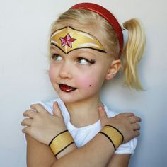 Superhero Face Painting, Face Painting For Boys, Body Painting, Face Painting Images, Face Painting Designs, Face Painting Tutorials, Halloween Makeup For Kids, Kids Makeup, Boy Face