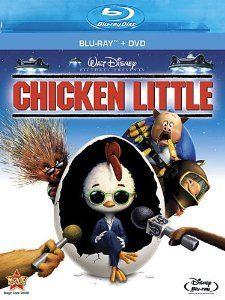 Chicken Little (DVD + Blu-ray) Zach Braff (voice), Joan Cusack (voice), Katie Finneran (voice), Don Knotts (voice), Garry Marshall (voice) Amy Sedaris, Patrick Stewart, Chicken Little Disney, Wallace Shawn, Disney Blu Ray, Walt Disney Movies, Disney Toys, Disney Pixar, Fiestas