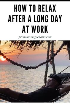 Do you often come home stressed after a long day at work? In this article, we will show you how to relax after a long stressful day at work. Click through to learn more and live a stress-free life. Long Day, Massage Benefits, Islamic Love Quotes, Stress And Anxiety, Stress Free, Relax, Live, Art, Art Background