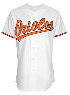 909ce7f0 MLB Baltimore Orioles Home Replica Jersey, White, Medium - ticket pop