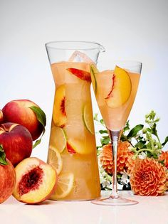 Peach sangria Sip of Summer ciroc