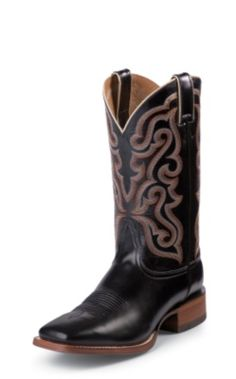 NRSworld - National Roper's Supply offers the best team roping supplies, western wear & apparel, cowboy boots & cowboy hats, horse tack & more! Western Boots For Men, Western Wear, Calf Leather, Black Leather, Nocona Boots, Square Toe Boots, Tall Guys, Calf Boots, Cowboy Boots
