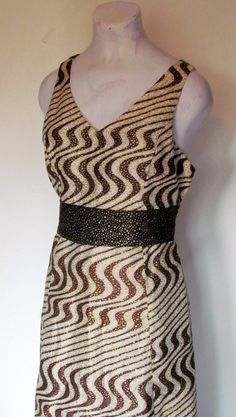 1960's Vintage Op Art Day DressON SALE by BeauMondeVintage on Etsy, $48.00