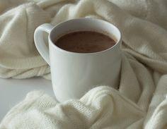 Czekolada na gorąco z chałwą Tahini, Chocolate, Tableware, Dinnerware, Tablewares, Chocolates, Dishes, Place Settings, Brown