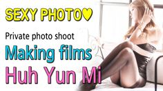 Huh Yun Mi HoneyTV - Sexy racing model sexy photo Making films