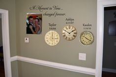 A Moment in Time changed forever birth dates by ALastingExpression, $32.95