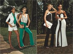 Campanha da coleção da marca Iódice, de Waldemar Iódice, para a fast fashion C&A.