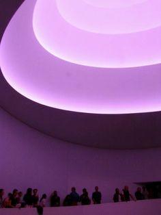 James Turrell installation at Guggenheim Museum | Buy tickets with Harlem Spirituals www.harlemspirituals.com/products/guggenheim-museum.php New York City Museums, James Turrell, Buy Tickets, Spirituality, Products, Spiritual, Gadget