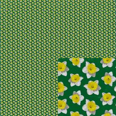 #Daffodils This is part of my January 2015 series #Tiny Repeats. #EmpireRuhl #pattern