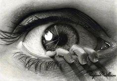 eye clock hand