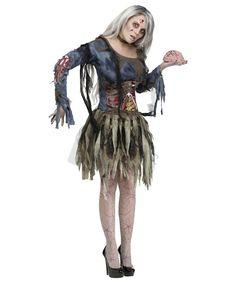 Zombie Lost Boy Costume Halloween Undead Fairy Tale Mens Fancy Dress Outfit