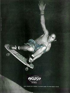 Hosoi Skateboards ad - 1987